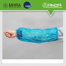 ADE001 support customized pe waterproof disposable arm sleeve