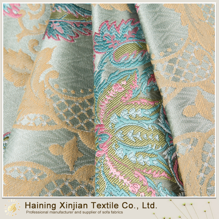 Best quality customized jacquard shimmer fabric