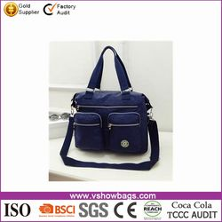 Outdoor Shopping Travelling tote shoulder Handbag manufacturer china 2016 new Product