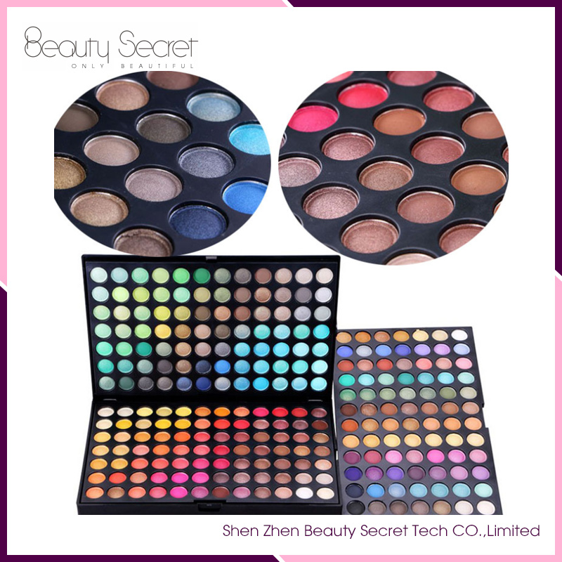 Hot Sale Mixed Cosmetic Palette 252 Eye Shadow Makeup Private Label Eye Shadow