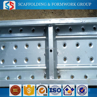 TianJin SS High Quanlity Scaffolding Metal Bridge Plank With Hooks