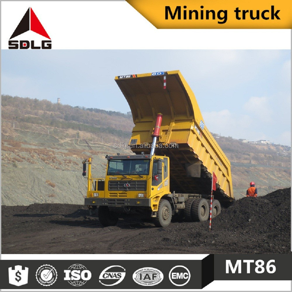 SDLG MT86 off-highway dump truck for mining