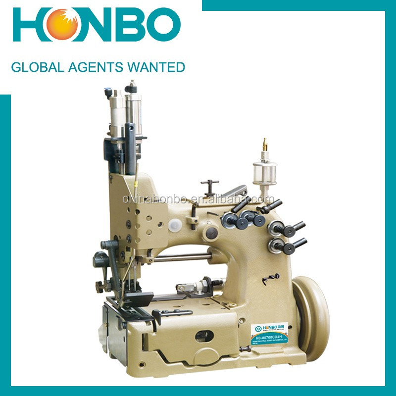 HB-80700CD4 Double Needle Overedging Flexible Container Sewing Machine