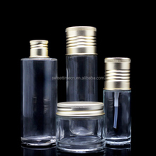 factory directly glass bottle for body lotion/oil