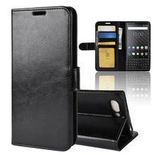 Superior Wallet Flip <strong>Phone</strong> Cover for <strong>Blackberry</strong> key2 Leather key 2