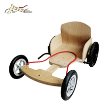 Children Wooden GO Kart for Kids to Europe Market