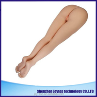 Life size half entity sex doll for men full solid silicone sex toy doll feet half body girl sex doll legs