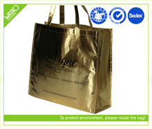 Laminated pictures printing non woven shopping bag