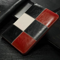 iCase 2015 Card Holder Leather Folio with stand for ipad 2/3/4 case