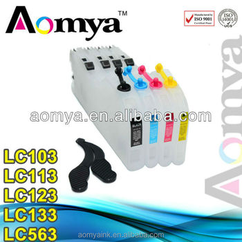 Cheap goods from china Refill ink cartridges for Brother LC103 LC113 LC123 LC133