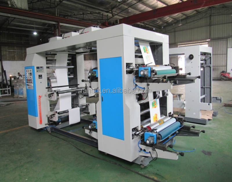 YT-41000 OPP/BOPP film 4 colors flexo printing machine