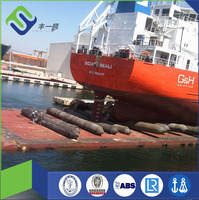 marine vessel launching airbag for ships and boats