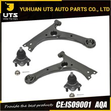 Dirt cheap auto parts Front lower control arm set for Corolla Celica Pontiac Vibe with bushing RK640360 RK640361