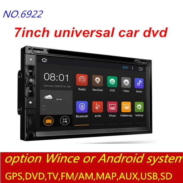 factory wholesale good quality vision car dvd player FM/GPS/DVD/Bluetooth/USB/AUX/WIFI