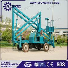 China best sale diesel power hydraulic compact boom lift