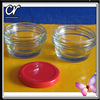 manufacturer glass caviar packing jar with mental cap