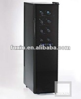 FUXIN:JC-53DFW.Dual Zone wine cooler with 2 thermoelectric cooling system,
