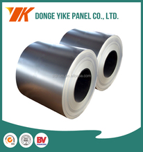 SPCC SPCD 0.61*1250mm Z180 cold rolled high strength steel plate/galvanized steel sheet/gi coils zero spangle from Shandong
