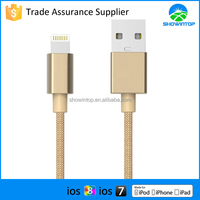 for iPhone 5 for iPhone 6 mfi certified colorful 8 pin data sync cable