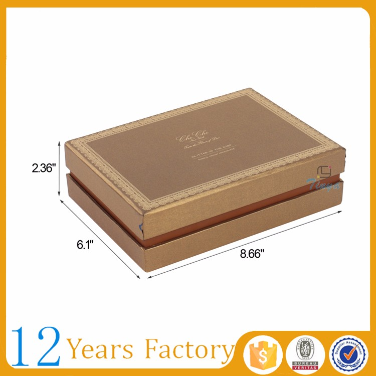 food grade cardboard small gift boxes for chocolates