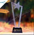 Wholesale China Award Glass Crystal Trophy Star