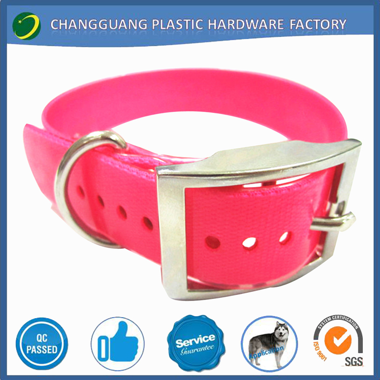 rustproof odorless TPU stainless steel dog collar