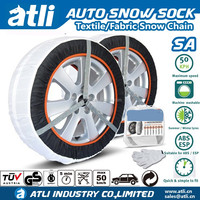 ATLI Fabric snow chains Tire chains for Car and Truck With TUV/GS and Onorm