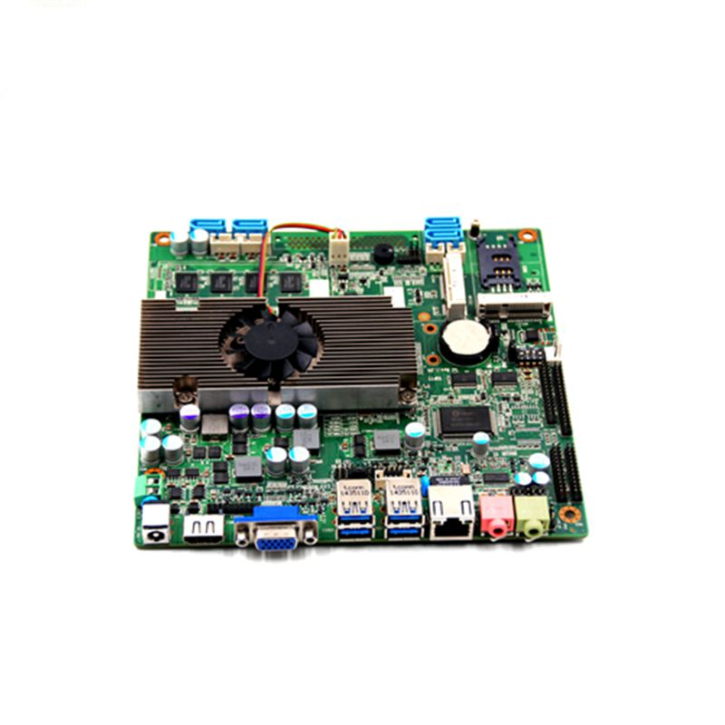 Intel Mobile sandy/ivy bridge i3/i5/i7 Quad Core embedded Fanless LVDS mini itx motherboard