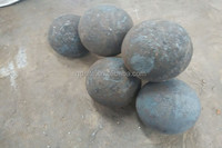 Wrought iron forged iron grinding steel ball with low chrome