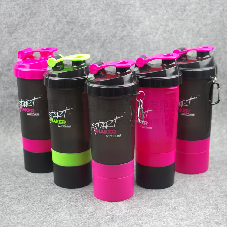 600ml custom protein shaker bottle bpa free, wholesale shaker bottle cup, protein shaker