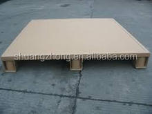 High pressure resistance paper pallet for transportation