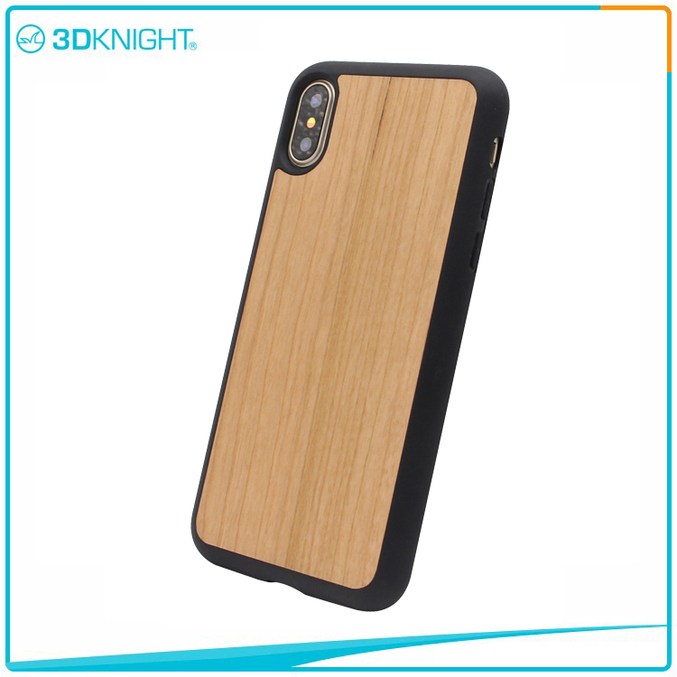 For Iphone X wood mobile case, Wholesale Phone Case Factory