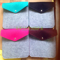 wholesale ashion design 14 inch fibrous felt laptop sleeve customiztion