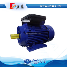 single phase 1.5 hp electric motor 1500RPM aluminum body small flange asynchronous motor