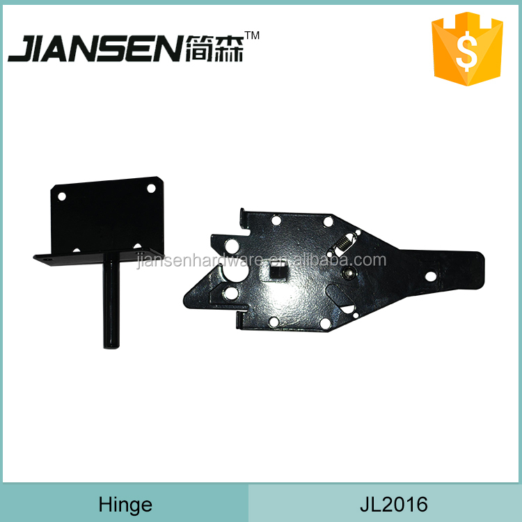 Steel welding wood latch for fence gate/ two sided gate latch