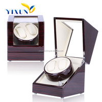 Luxury wood automatic watch boxes