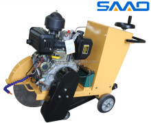 Easy start 9HP diesel engine machine concrete road asphalt cutter SQG-500/500C