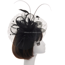 Factory Wholesale Wedding Hair Accessories Hair Accessory With Feather