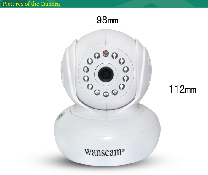 Security Camera <strong>1080p</strong> Wifi Smallest Home Surveillance SD Card Recording IP Cam
