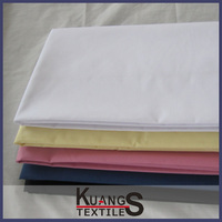 white polyester cotton fabric rolls