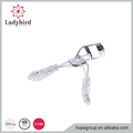 Beauty Tool Rhinestone Eyelash Curler Shining Silver Handle Eye Curling Eyelash Curler Clip
