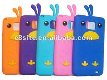 Funny Chick Back Cover Silicone Case For Samsung i9100 Galaxy S2