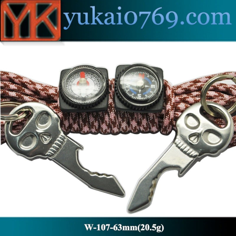 Yukai Multi-functiona stainless steel tools skull bottle opener