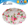 Oval new fruit flower coffee decor lego gift mail order hotel use household plastic plate/dinner plate/dish and plate
