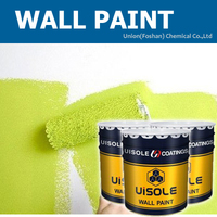 Water based matte white acrylic latex paint for exterior wall