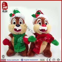 Toy animal Christmas plush rabbit