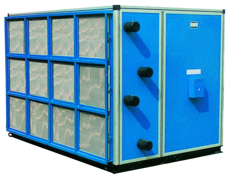 Double skin AHU air handling unit system