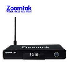 Zoomtak best selling free live stream full hd media player android smart tv box
