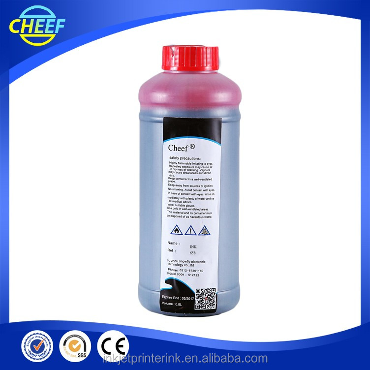 High Quality Printing Water Pigment Ink 658 for willett inkjet Printer