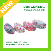 Floral design print Hard Clamshell eyeglasses Case for Small To Medium size frame